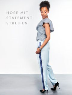 Bild des Schnittmusters Hose mit Statement-Streifen